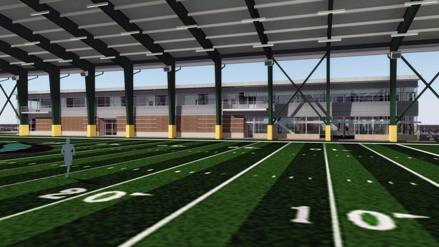 UAB Practice Field and Football Building