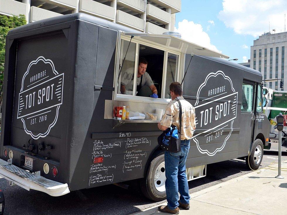 The Tot Spot Food Truck Birmingham
