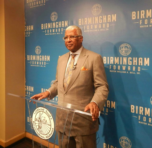 Mayor William Bell 11-15-16
