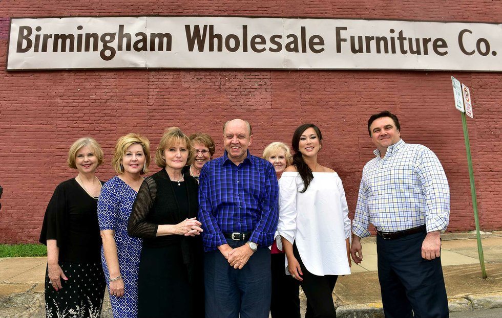 Birmingham Wholesale Furniture revives old sign's flair - ironcity ...