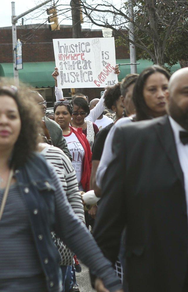 MLK Day March