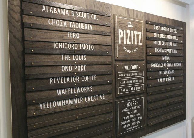Pizitz Food Hall Opening