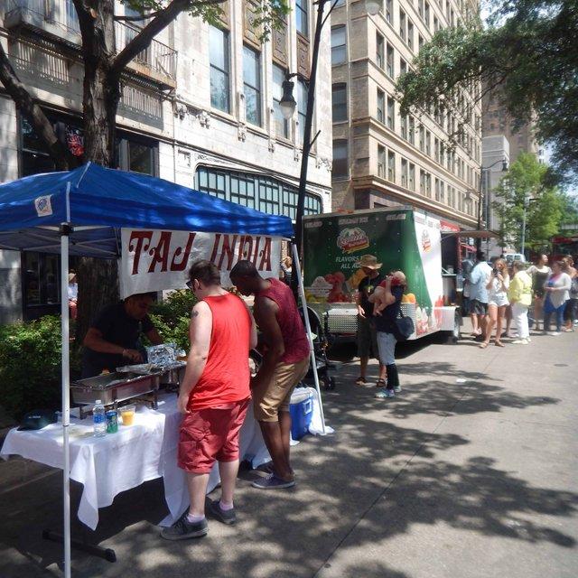 Street Fair vendors