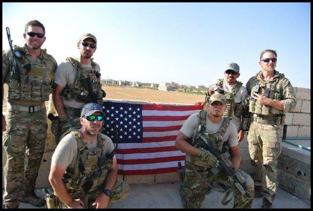 Lt. Col. Benjamin Mitchel & team