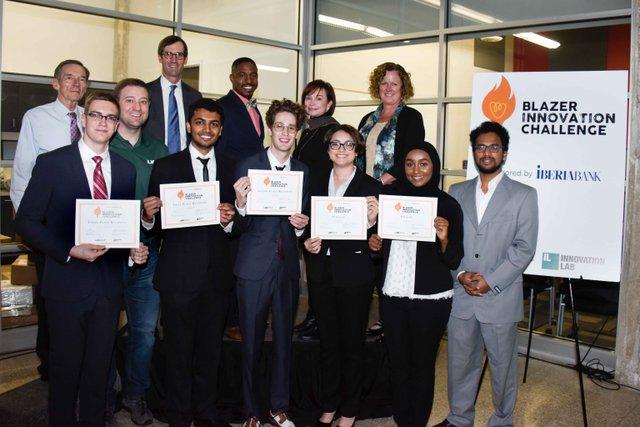 UAB Blazer Innovation Challenge finalists Nov 17.jpg