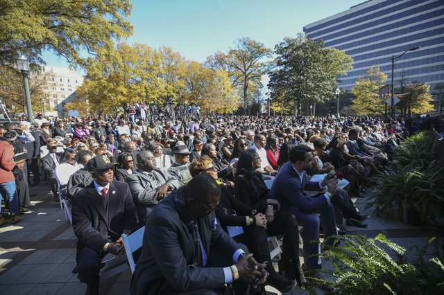 Mayor Randall Woodfin Inauguration
