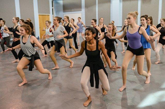 Dance class at the Alabama Dance Festival. Photo by Clark Scott..jpg