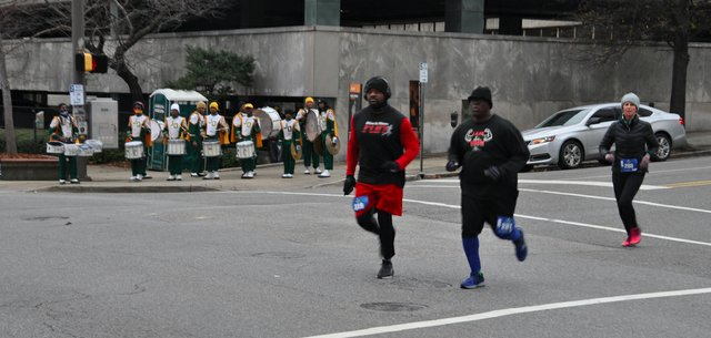2018 MLK Day 5K Drum Run 2