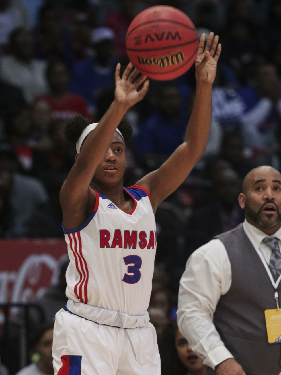 Ramsay Girls Basketball VS Hazel Green State Championship