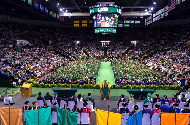 UAB 2017 spring commencement