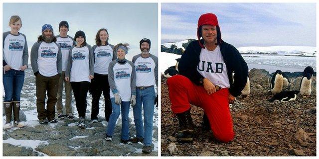 UAB Antarctic team