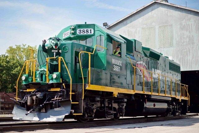 UAB locomotive July 2018