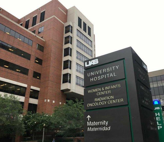 UAB Hospital view