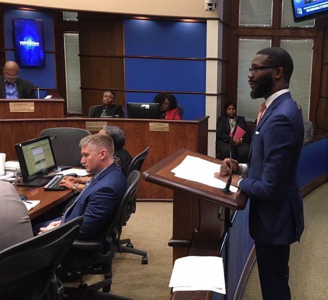 Mayor Randall Woodfin 11-27-18