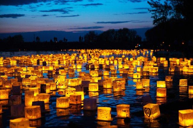 Water Lantern Festival publicity shots