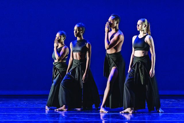 Ala School of Fine Arts dancers