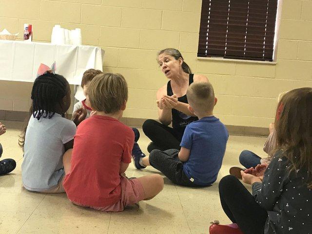 Dance Foundation teacher