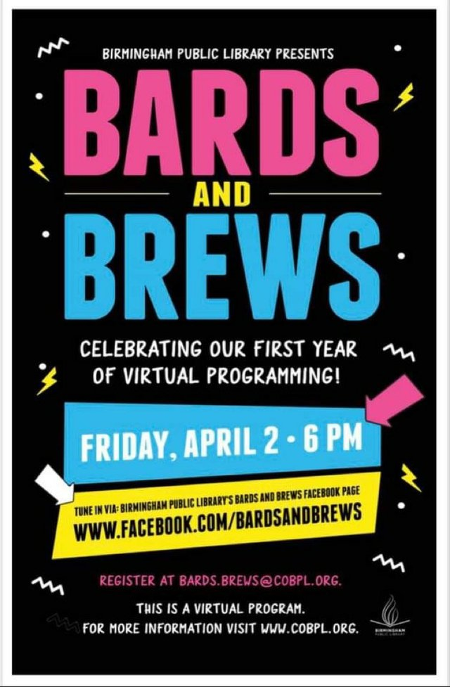 Bards & Brews virtual flyer April 2, 2021.JPG